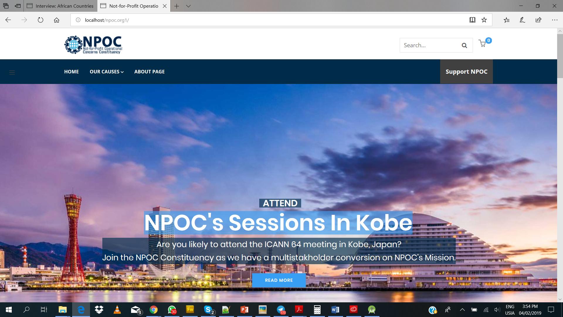 NPOC has a brand new website!