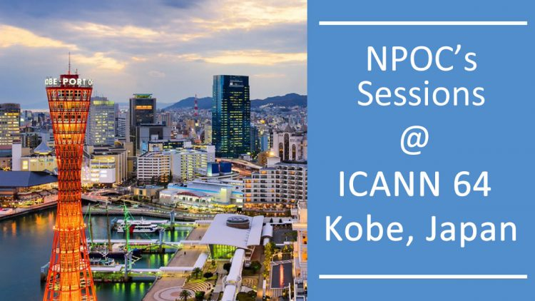 NPOC's Session in Kobe and Website Launch